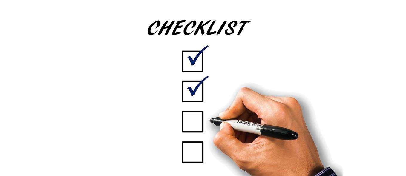 Checklista för dina processer nytt IT-system