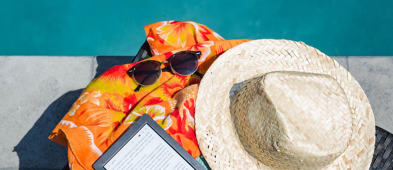ledighetsansökningar digitalt bild på solhatt